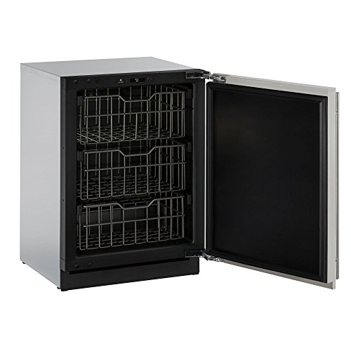 Used, U-Line U3024FZRS00B 4.5 cu. ft. Built-in Freezer, Stainless for sale  Delivered anywhere in USA
