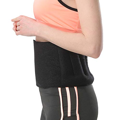 Aroma Season Microwave Lower Back Heating Pad Lumbar Heat Wrap. Hot Therapy for Relief Pains