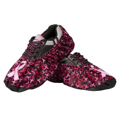 Robby's Breast Cancer Shoe Covers- Pink Ribbons, One Size Fits Most by Robby's Accessories