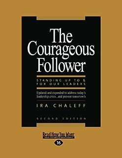 amazon co jp iuml frac the power of followership robert e kelley aelig acute aelig cedil  the courageous follower large print 16pt