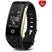 Toprime Fitness Tracker Activity Pedometer Noticeable