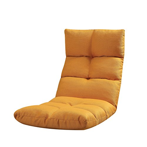 41N6NNNzjfL - ACME-Morris-Orange-Fabric-Youth-Game-Chair