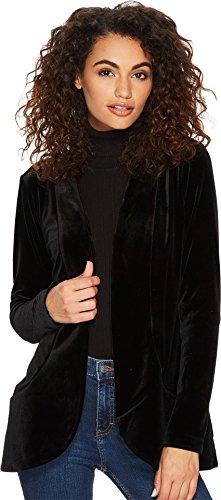 Lyssé Women's Ella Velvet Jacket, Black, S by Lyssé