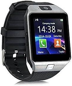 Smart Watch Reloj Inteligente DZ09 Phone Pulsera Bluetooth reloj teléfono para Smartphone Xiaomi mi5s MI6 Redmi Note Android Silver y Negro: Amazon.es: Electrónica