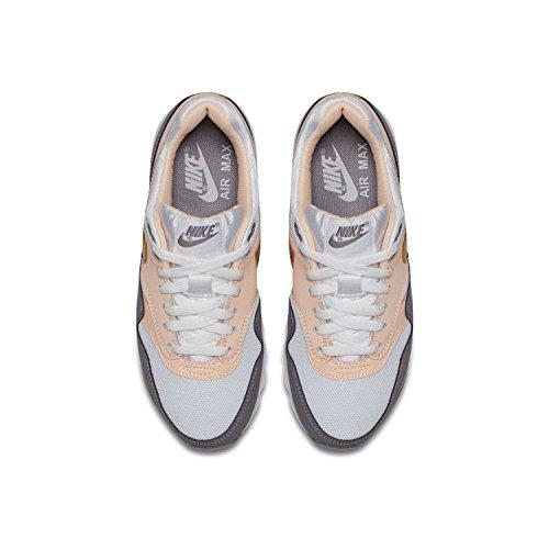NIKE Shoes Air Max 1 (Gs) WhiteGoldCharcoal: Amazon.co