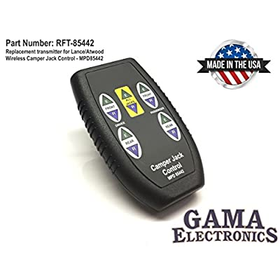 GAMA Electronics Replacement Transmitter for Atwood/Lance Jack Control: Automotive