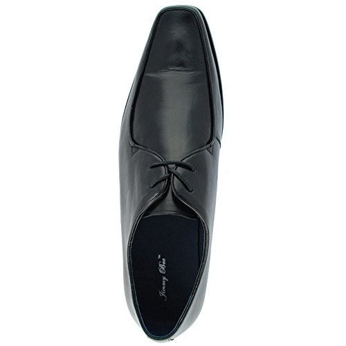 Jimmy Bee Raleigh 75 F Mens 2 Eye Shoes Black