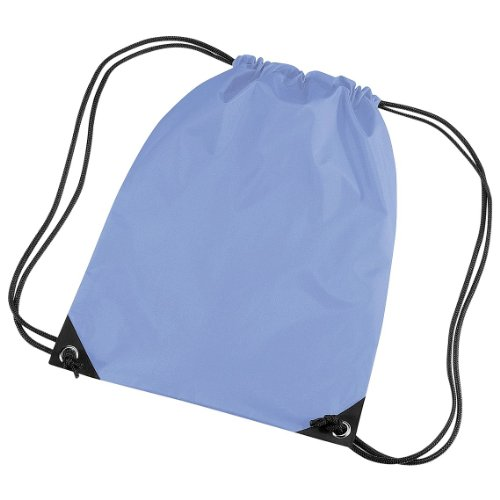 Price comparison product image Bagbase Premium Gymsac Water Resistant Bag (11 Liters) (One Size) (Lazer Blue)