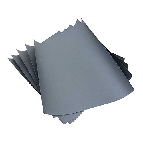 3M Imperial Wet or Dry 1000 Grit SandPaper / Abrasive Sheets 9'' x 11'' Pkg of 5 by 3M
