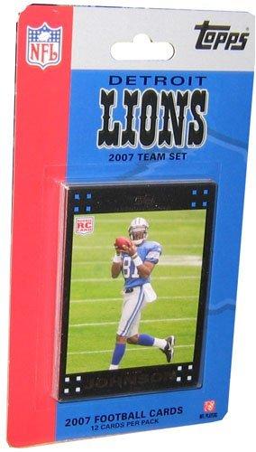 NFL Detroit Lions Licensed 2007 ToppsTeam Set ()