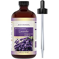 Body Wonders Therapeutic Grade Oil, Lavender, 4 oz