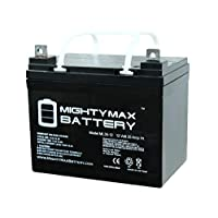 Mighty Max Battery ML35-12 - 12V 35AH DC DEEP Cycle SLA Solar Energy Storage Battery Brand Product