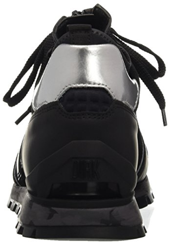 BIKKEMBERGS Herren Numb-Er 722 Mid Shoe M Leather/Lycra Pumps Schwarz