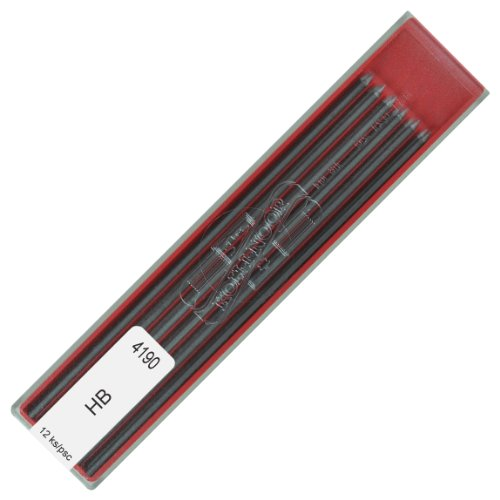 Koh-i-noor 4190 HB 2.0 mm Graphite Leads for Technical Drawing and Retouching.