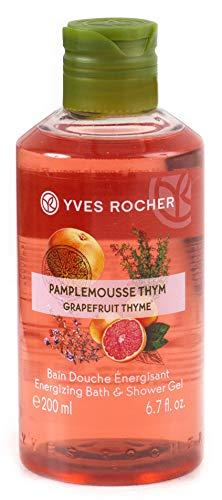 Yves Rocher Les Plaisirs Nature Energizing Bath & Shower Gel - Grapefruit Thym (6.7 fl.oz.)