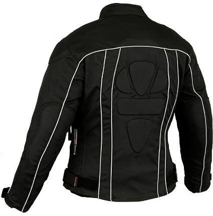 Chaqueta de protecci/ón Drylite Ladies Motocicleta Mujer peque/ña