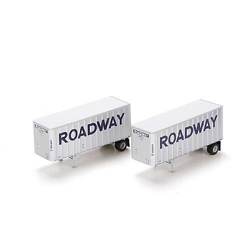 【着後レビューで 送料無料】 HO RTR (2) 8.5m RTR Trailers w 8.5m/Dolly, Roadway (2) B00P7X7SPA, ひさむら農園:3bb2da9a --- a0267596.xsph.ru