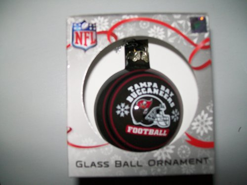 Glass Buccaneers Bay Tampa Ornaments (Tampa Bay Buccaneers Football Glass Ball Ornament (NFL))