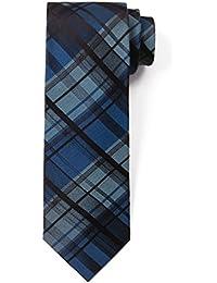 Classic Tartan Plaid Check Silk Tie 3'' Skinny Necktie