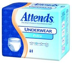 Attends APV20 Protective Underwear, Regular Absorbency, 34''-44'', Medium (Pack of 80)