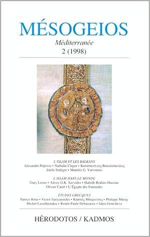 Livres Mésogeios. Méditerranée pdf, epub ebook