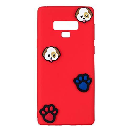 9 étui de étui Coque Fait dans puppy Mate9 Mince Samsung téléphone Slip léger Rigide Note Galaxy matériel pour Anti inShang Housse TPU Coque Le et Portable Ultra A1tqp4w