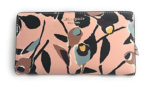 Kate Spade Cameron Street Stacy Wallet, Paper Roses Pink