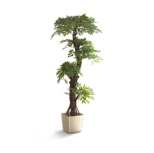 Large luxury artificial japanese fruticosa tree stylish for Indoor japanese garden plants