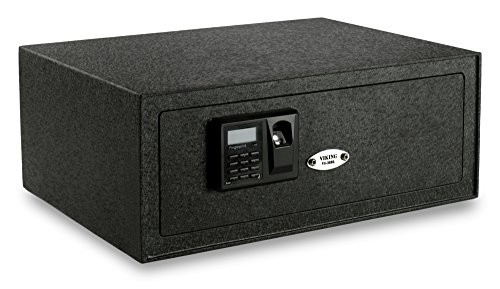 Viking Security Safe VS-38BLX Extra Wide Laptop Safe Biometric Safe Fingerprint Safe