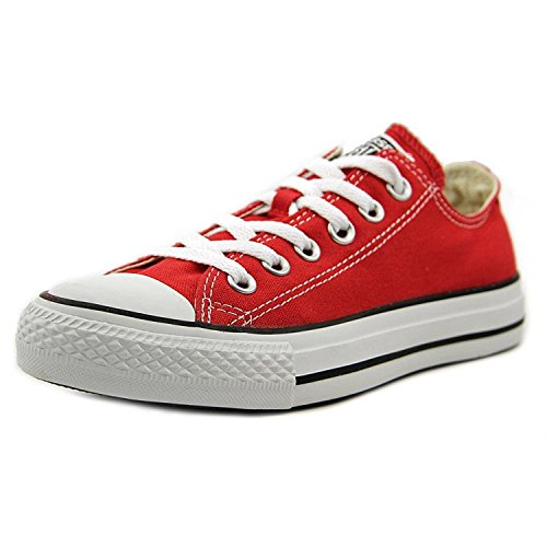 Converse The Chuck Taylor All Star Lo Sneaker (9.5 D (m), Rosso)