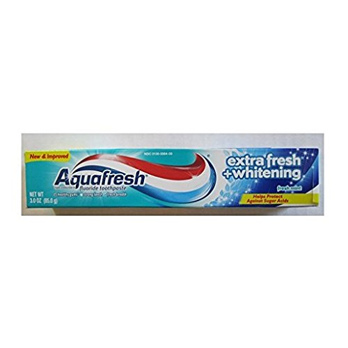 Pack of 2 Aquafresh Extra Fresh+Whitening Toothpaste 3.0oz Travel Size
