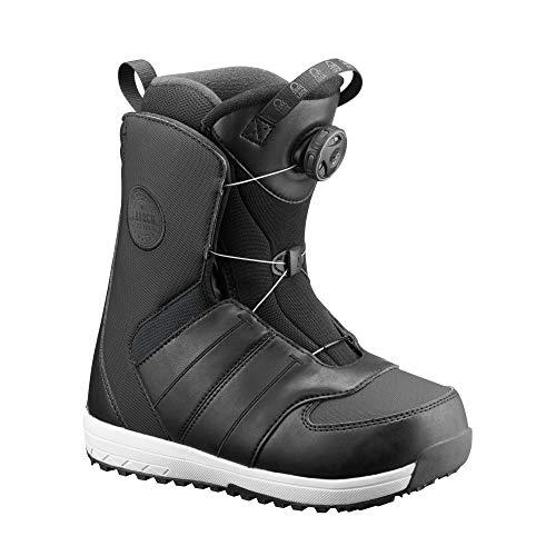 Salomon 2019 Snowboard Boots Launch BOA JR Black (23)