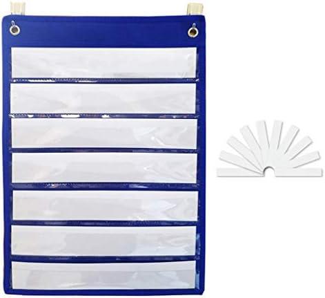 Magnet-Taschendiagramm mit 10 trocken abwischbaren Karten
