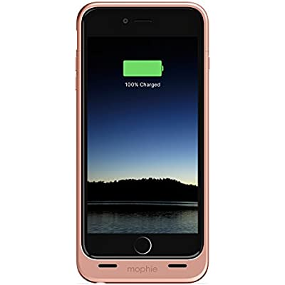 mophie juice pack Compact Battery Case for iPhone Plus Plus Rose Gold