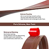Holikme Door Draft Stopper 2 Pack Brown 37-inch