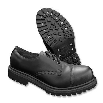 Boots Punta Acciaio Invader cuoio Ranger Scarpe 3 MIL In Nero Stivali nbsp;fori TEC Nero di w0ZnxzqX