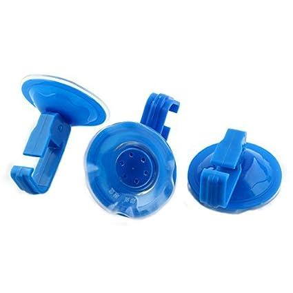 Toalla eDealMax plástico Aseo Cocina ventosa ropa Pot Percha 3 PCS Azul - - Amazon.com