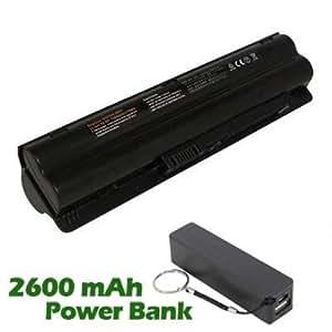 Battpit Bateria de repuesto para portátiles Compaq Presario CQ35-111TU (6600 mah) con 2600mAh Banco de energía / batería externa (negro) para Smartphone