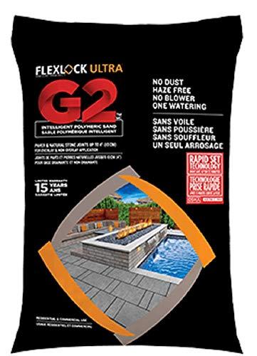 Flexlock G2 Intelligent Polymeric Sand Graphite Grey 50 Lbs Bag by Techo-Bloc