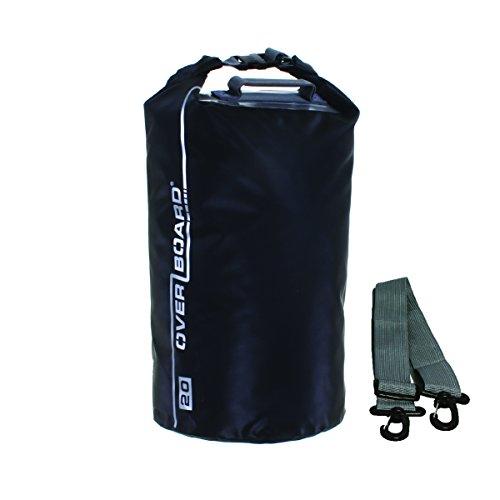 Man Overboard Light (OverBoard Waterproof Dry Tube Bag, Black, 40-Liter)