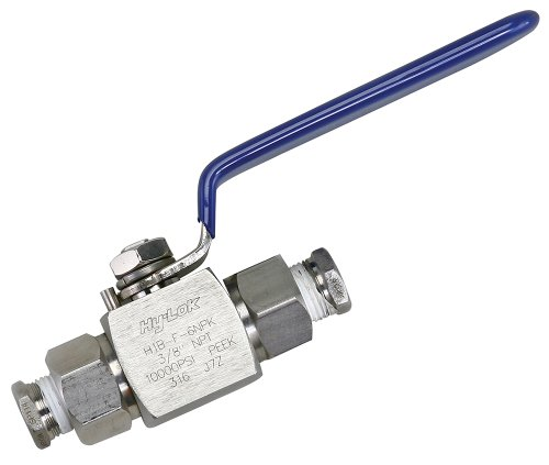(Polar Tech AZ 27 High Pressure Ball Valve for Absolute Zero Dry Ice Snow Maker)