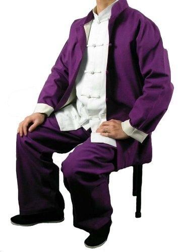 Lin Fin Tenue Noire Kung Fu Tai Chi Vêtement Art Martiaux Sur Mesure #116