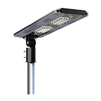 Solar/Hybrid Energy Efficient LED Ultra-Powerful Self-Contained Smart Commercial Residential Lighting w/ Mounting System for Building Parking lots Bike Path Street