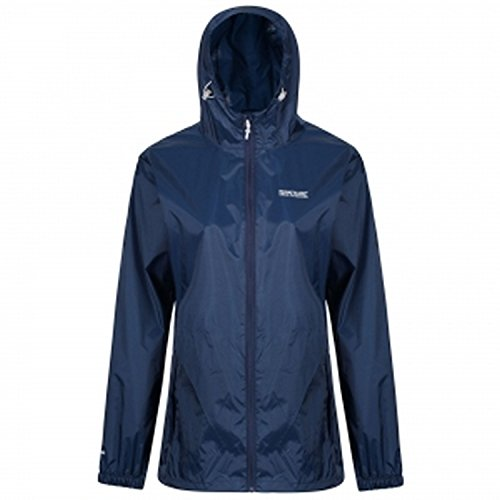 (Regatta Womens/Ladies Pk It JKT III Waterproof Hooded Jacket (10 US) (Midnight) )