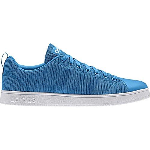 Adidas VS Advantage CL–Baskets pour homme, Bleu–(azusol/azusol/Ftwbla) 48
