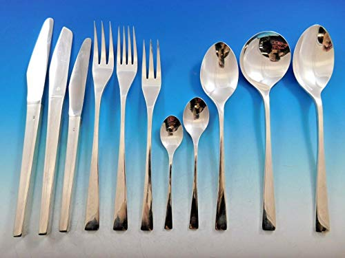 Embassy by David Mellor Scheffield Sterling Silver Flatware Set Service 149 Pcs