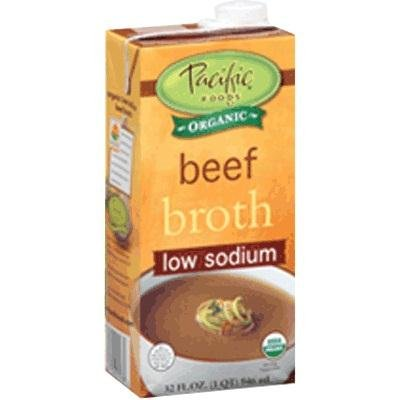 Pacific Natural Foods Ls Beef Broth 12x 32OZ