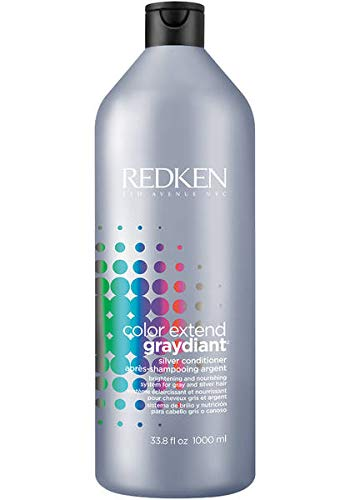 Redken Color Extend Graydiant Silver Conditioner By for Unisex - 33.8 Ounce Conditioner, 33.8 Ounce