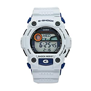 Casio Men's G-7900A-7DR G-Shock White Resin Digital Dial Watch