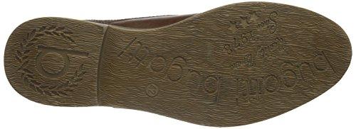 Bugatti F7505pr83, Zapatos de Cordones Derby para Hombre Marrón (braun 600braun 600)